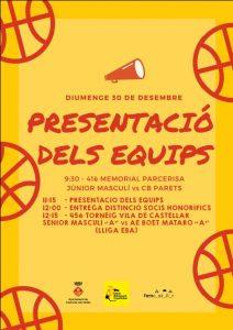 Presentació equips 2018-2019
